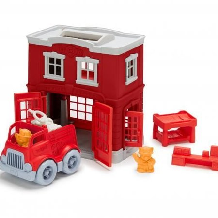 Green Toys Green Toys Fire Station Playset