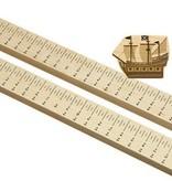 Maple Landmark Wooden Growth Stick