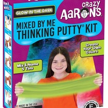 Crazy Aaron's Thinking Putty - Mixed by Me Kit - Glow in the Dark