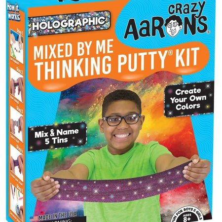 Crazy Aaron Crazy Aaron's Thinking Putty - Mixed by Me Kit - Holographic