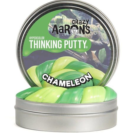 "Crazy Aaron Crazy Aaron's Thinking Putty (2"" tin) Chameleon"