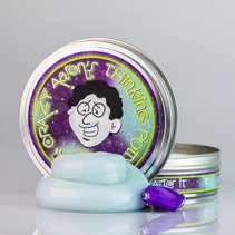"Crazy Aaron's Thinking Putty (4"" tin) Mystic Glacier"