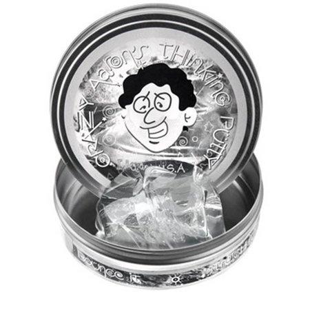 "Crazy Aaron Crazy Aaron's Thinking Putty (4"" tin) Liquid Glass"