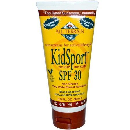 All Terrain All Terrain KidSport Sunscreen SPF 30