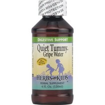 Quiet Tummy Gripe Water Unflv 4 oz Liq