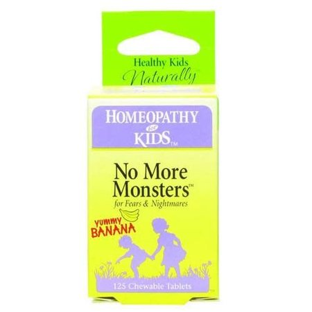 Herbs for Kids No More Monsters, Chewable, Banana (Carton) 125ct