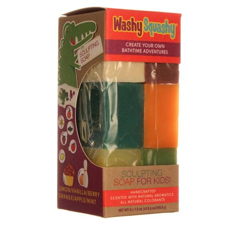 SF Washy Squashy Sculpting Soap, Bar 9oz
