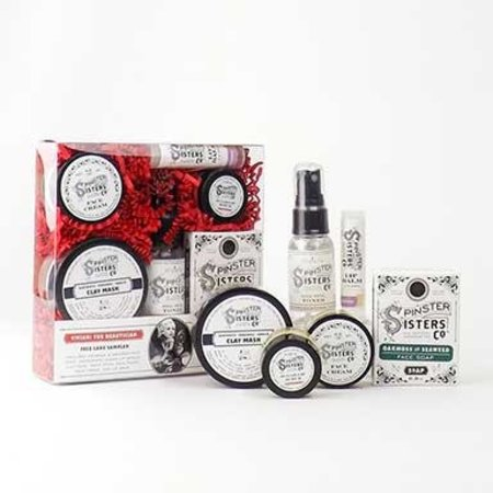 Spinster Sisters Vivian: The Beautician Face Care Sampler