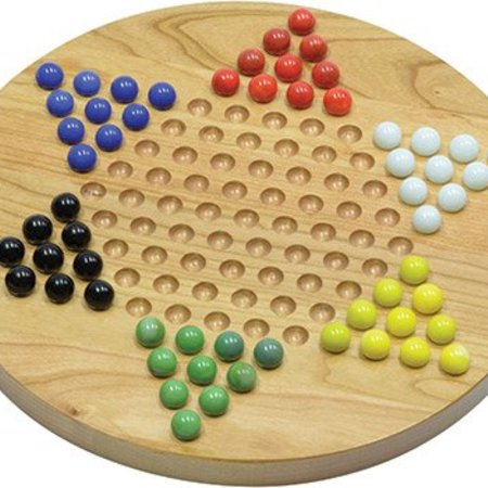 Maple Landmark Chinese Checkers-Cherry