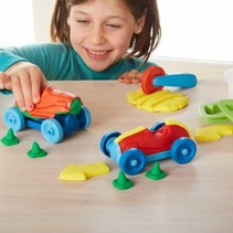 Green Toys Race Car Dough Maker Set