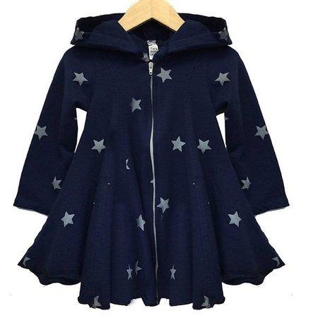 Nano Star Hooded Jacket