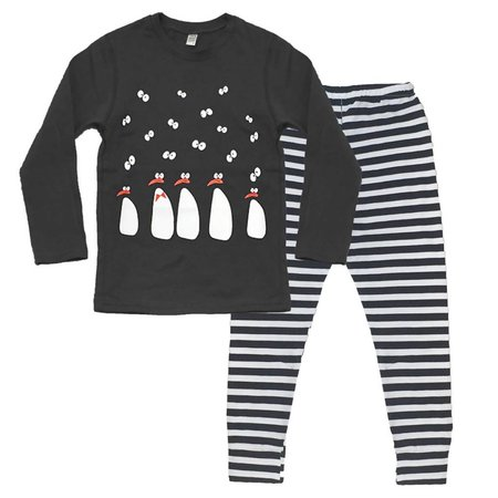 Nano Penguin Pajama Set
