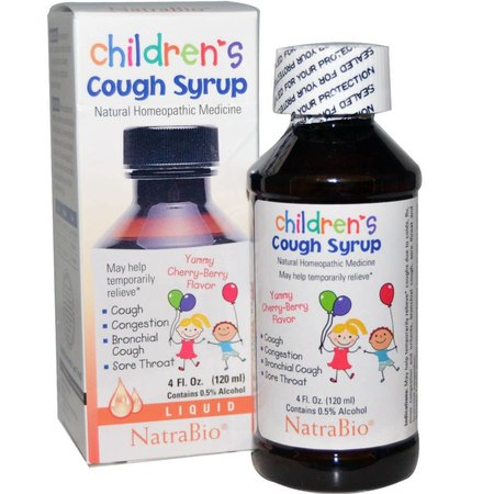 NatraBio Children's Cough Syrup