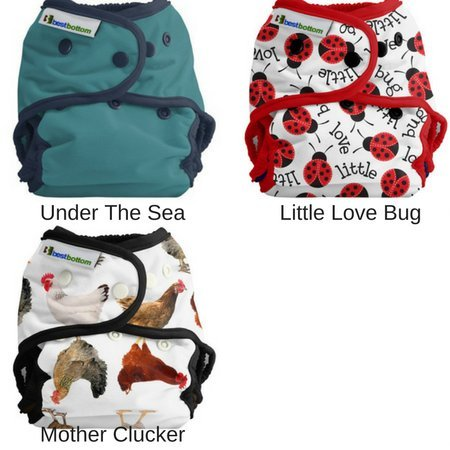 Best Bottom Diapers Best Bottom Diaper Cover (Snap) Prints