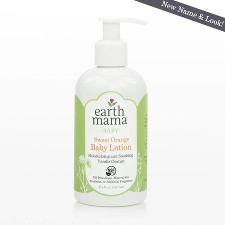 Earth Mama Organics Sweet Orange Baby Lotion