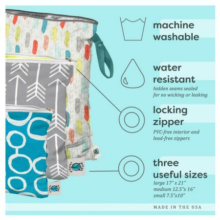 Planetwise Planet Wise Large Wet Bag