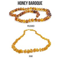 "Baltic Amber Necklace (12-22"")"