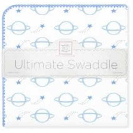 Swaddle Designs Ultimate Swaddle Blanket Planets Blue