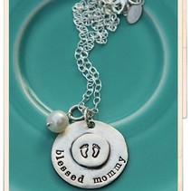 Blessed Mommy Necklace