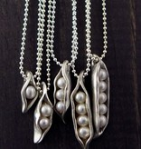 The Vintage Pearl Sweet Pea Necklace