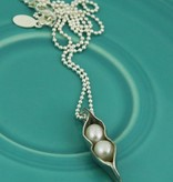 The Vintage Pearl Sweet Pea Necklace by the Vintage Pearl