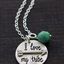 I Love My Tribe Necklace