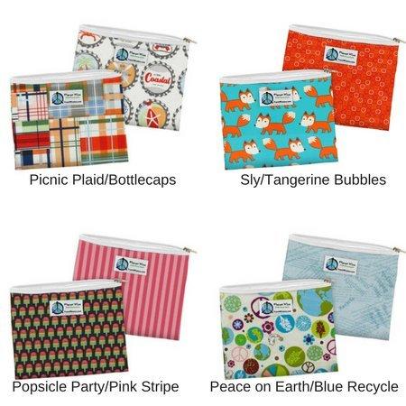 Planetwise Sandwich Bags- Zipper (2 Pack)