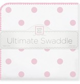 Swaddle Designs Ultimate Swaddle Blanket Big Dots