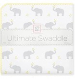 Swaddle Designs Ultimate Swaddle Blanket Elephant and Chickies