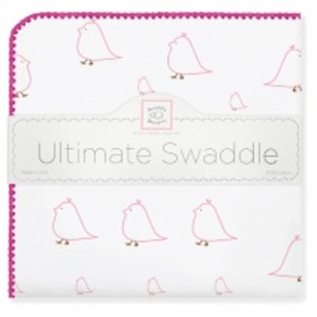 Swaddle Designs Ultimate Swaddle Blanket Mama and Baby Chickies