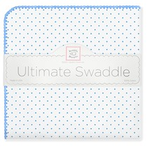 Ultimate Swaddle Blanket Polka Dots