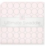 Swaddle Designs Ultimate Swaddle Blanket Sterling Mod Circles on Sunwashed Pastels