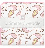 Swaddle Designs Ultimate Swaddle Blanket Triplets Paisley