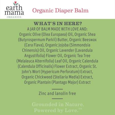 Earth Mama Organics Organic Diaper Balm by Earth Mama Organics