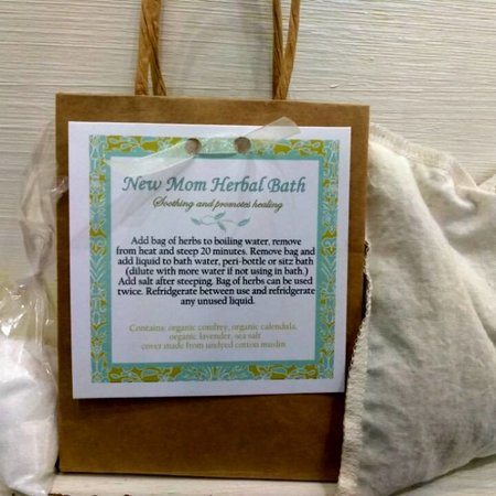 Shelie Ross New Mom Herbal Bath