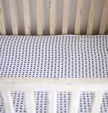Modern Burlap Organic Crib Sheet by Modern Burlap