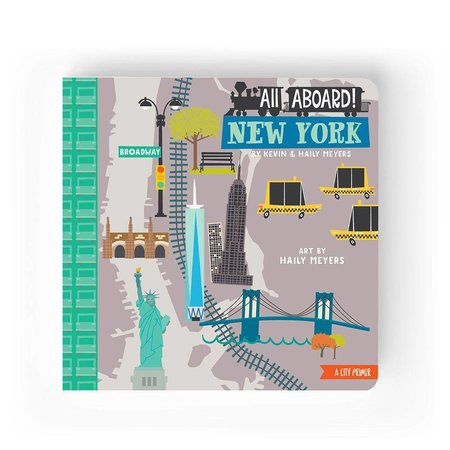 Lucy Darling All Aboard New York: A City Primer by Lucy Darling