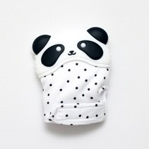 Getting Sew Crafty Panda Teething Mitten