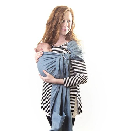Two Feathers Babywearing Linen Ring Sling