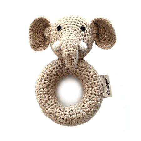 Cheengoo Hand Crocheted Rattle - Elephant Ring by Cheengoo