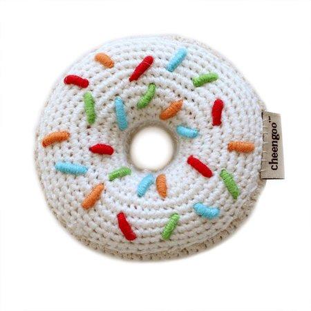 Cheengoo Hand Crocheted Rattle - Donut by Cheengoo