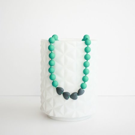 Little Teether Teething Necklace- Brave