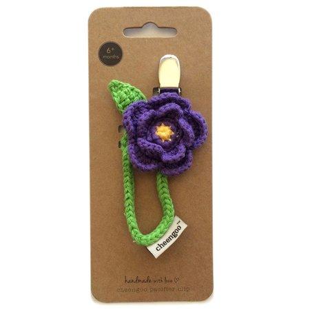 Cheengoo Crocheted Pacifier Clip by Cheengoo