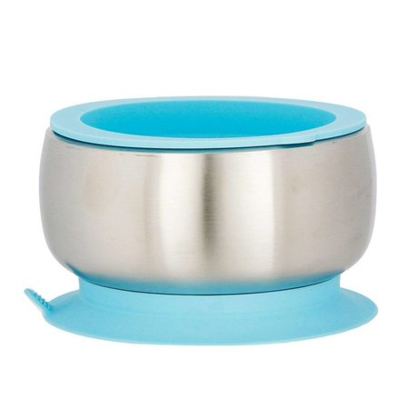 Avanchy Stainless Steel Suction Bowl & Lid