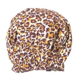 Shower Cap-Leopard