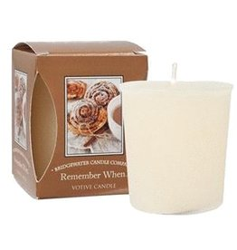 Bridgewater Candle Co Remember When Votive