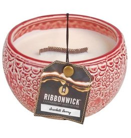 Virginia Gift Brands Ribbonwick Medium Round Scarlett Berry