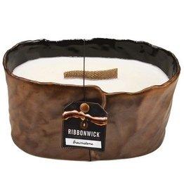 Virginia Gift Brands Ribbonwick Brownstone Small Oval