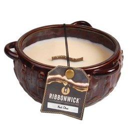 Virginia Gift Brands Ribbonwick Medium Round Red Chai