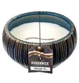 Virginia Gift Brands Ribbonwick Medium Round Midnight Sea